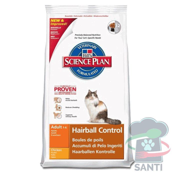 hills science plan hairball control